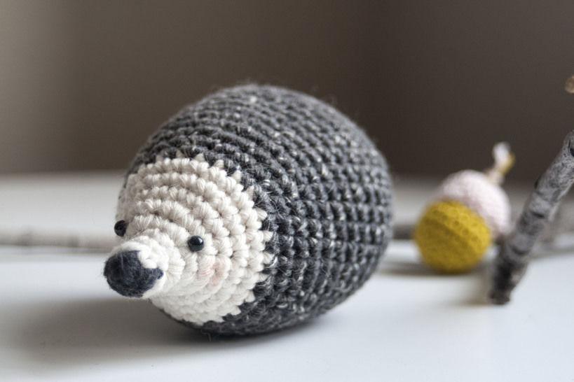 Hedgehog - Detailed Pattern (en) - Häkelanleitungen bei Makerist sofort runterladen