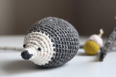 Hedgehog - Detailed Pattern (en) bei Makerist sofort runterladen
