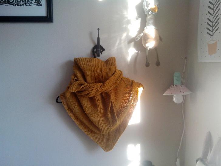 Le simplement rayé - shawl (en) - Häkelanleitungen bei Makerist sofort runterladen