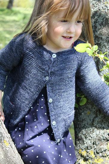 Download Starlette - Children Cardigan Knitting Pattern - Knitting Patterns immediately at Makerist