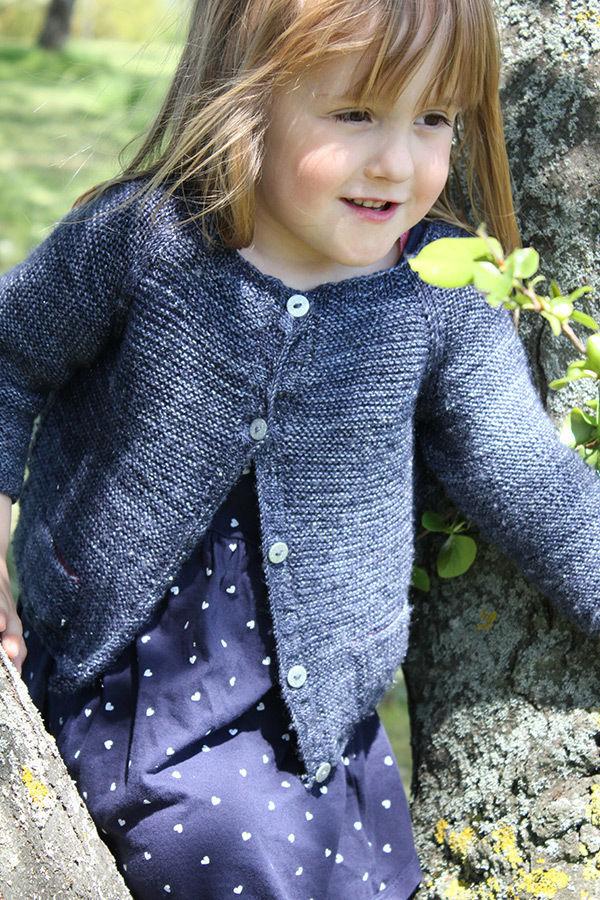 Starlette Children Cardigan Knitting Pattern