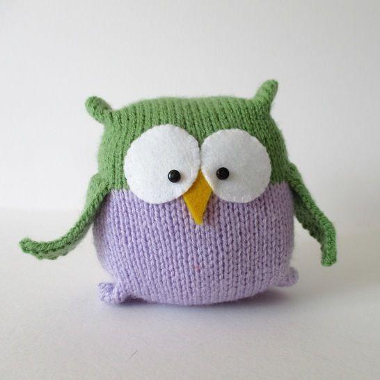 Tooley Owl (en) - Strickanleitungen bei Makerist sofort runterladen