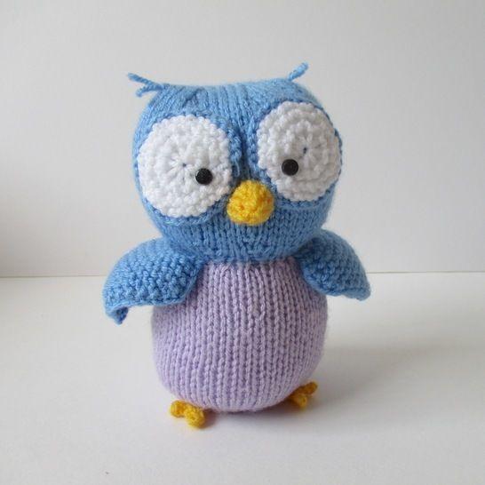 Hoots the Owl (en) - Strickanleitungen bei Makerist sofort runterladen