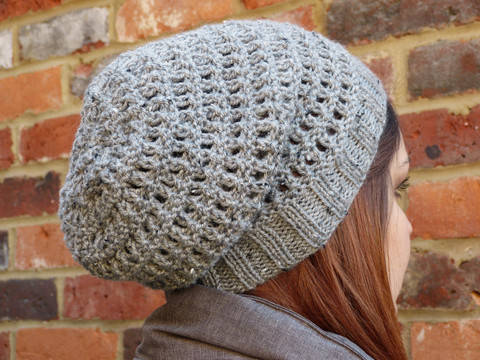 Open Check Stitch Hat Knitting Pattern-Child and Adult (en) bei Makerist sofort runterladen