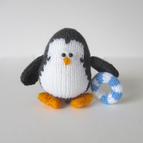 Hopkins the Penguin (en) - Strickanleitungen bei Makerist sofort runterladen