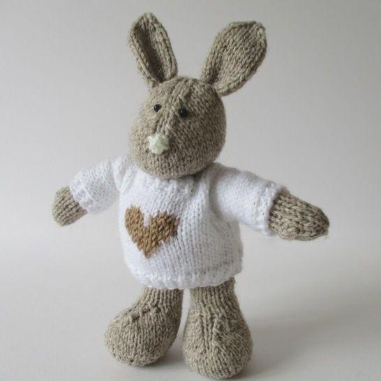 Pip the Bunny (en) - Strickanleitungen bei Makerist sofort runterladen