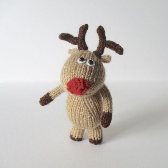 Dinky Reindeer (en) - Strickanleitungen bei Makerist sofort runterladen