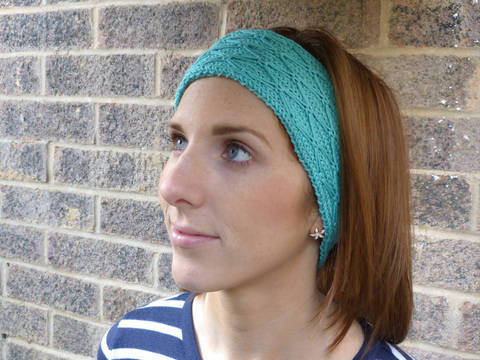 Diamond Quilt Stitch Headband Straight Version (en) bei Makerist sofort runterladen