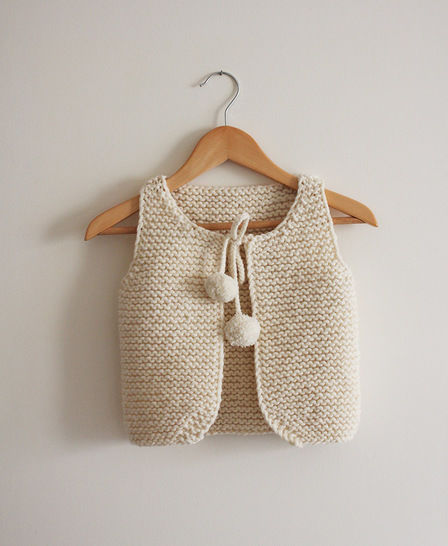 20d78f3bf Lil Shepherd - Vest for babies to adults Knitting Pattern