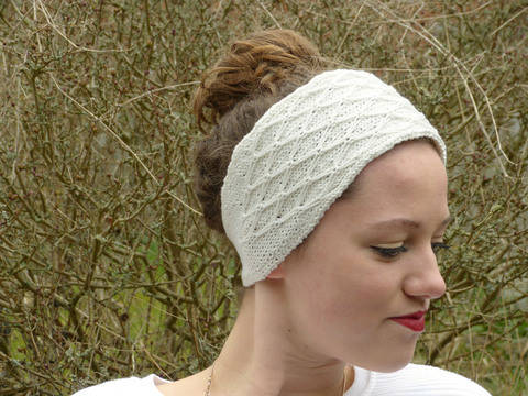 Diamond Quilt Stitch Headband Shaped Version (en) bei Makerist sofort runterladen