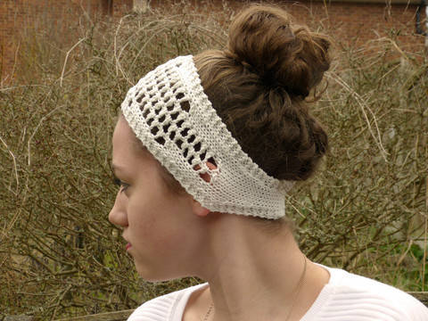 Filet Lace Shaped Headband (en) bei Makerist sofort runterladen