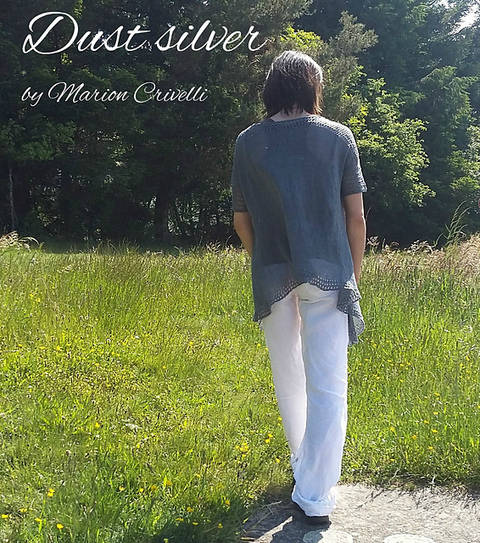 dust silver cardigan - knitting (en) bei Makerist sofort runterladen