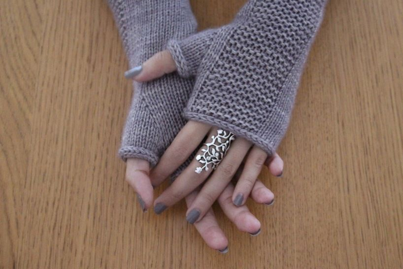 Download Heaven Mitts - Knitting Patterns immediately at Makerist