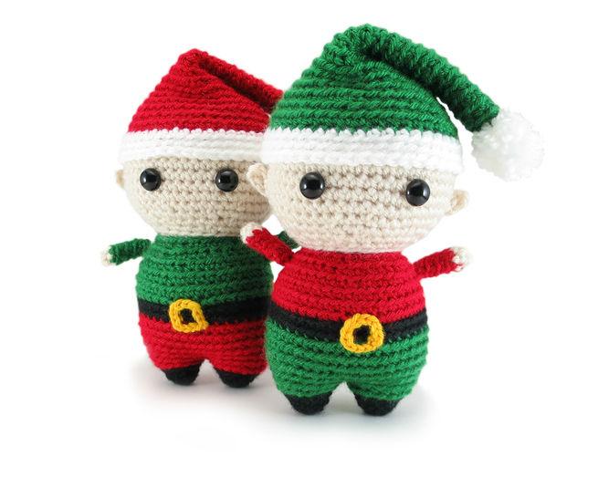 Felix the Elf - amigurumi crochet pattern (en) - Häkelanleitungen bei Makerist sofort runterladen