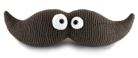 Harry the Moustache - amigurumi crochet pattern (en) bei Makerist sofort runterladen