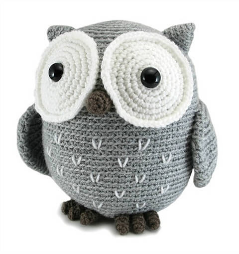 Koko the Owl - amigurumi crochet pattern (en) bei Makerist sofort runterladen