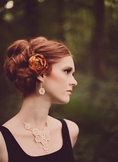 An Irish rose. Crochet jewelry tutorial (en) - Häkelanleitungen bei Makerist sofort runterladen