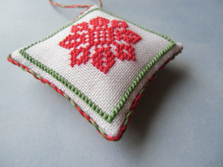 Christmas ornaments collection x 54 tiles - Cross stitch pattern. Instant download PDF. (en) - Stickmuster bei Makerist sofort runterladen