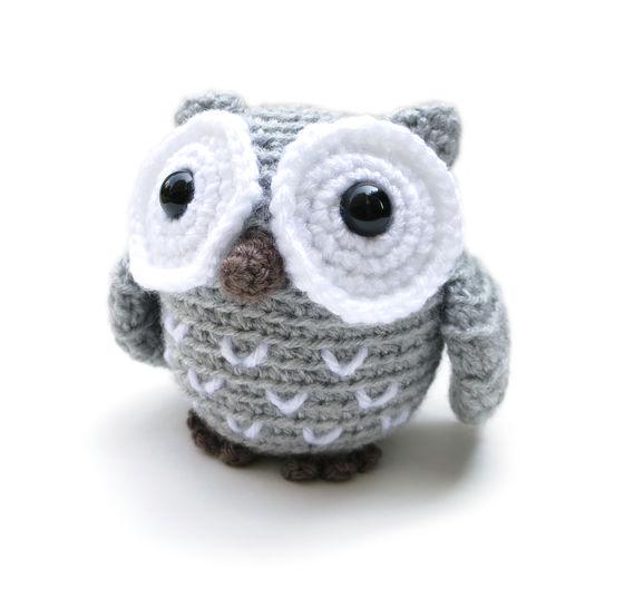Little Koko the Owl - amigurumi crochet pattern (en) - Häkelanleitungen bei Makerist sofort runterladen
