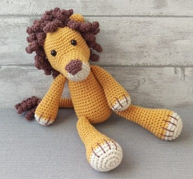 Download Crochet Pattern Lion - HANKIDS - Crochet Patterns immediately at Makerist