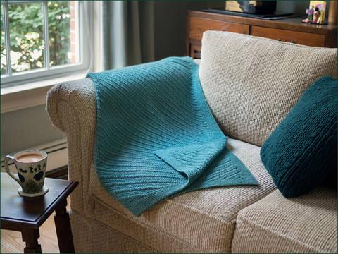 Ennismore Lap-Rug - Knitting Pattern - Instant Dowload (en) bei Makerist sofort runterladen