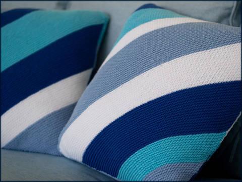 Derwent Cove Cushions - Knitting pattern - Instant download (en) bei Makerist sofort runterladen
