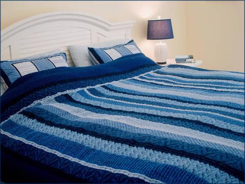Ocean Currents Blanket  - Knitting Pattern - Instant download (en) bei Makerist sofort runterladen