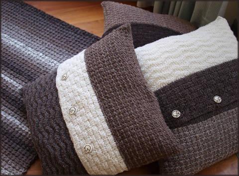 Rare Earth Cushions - Knitting Pattern - Instant Download (en) bei Makerist sofort runterladen