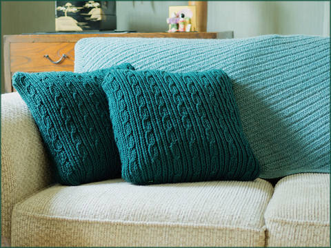 Verwood Cushions - Knitting Pattern - Instant download (en) bei Makerist sofort runterladen