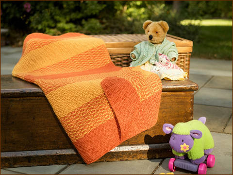 Winsford Stroller Blanket - Knitting Pattern - Instant download (en) bei Makerist sofort runterladen