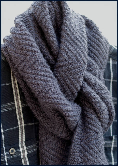Lamberhurst Scarf - Knitting Pattern - Instant download (en) bei Makerist sofort runterladen
