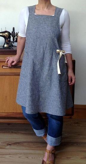 The Maria Wrap Apron | PDF sewing pattern (en) - Nähanleitungen bei Makerist sofort runterladen