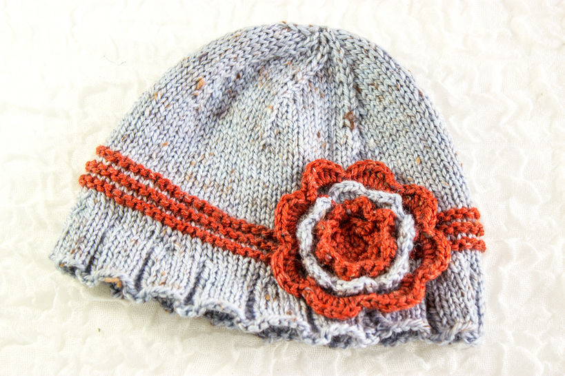 Girl's Cloche Hat- Knitting Pattern (en) - Strickanleitungen bei Makerist sofort runterladen