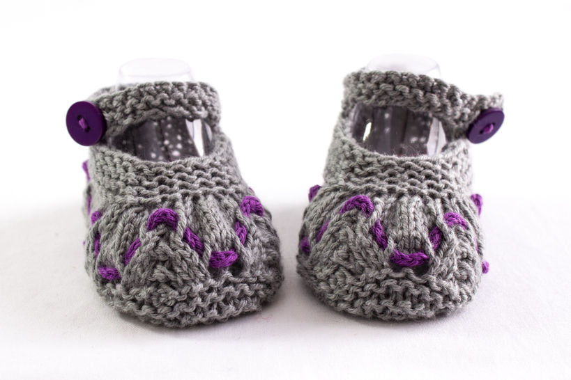 Baby Girl Summer Booties, Knitting Pattern, Baby Girl Shoes Pattern (en) - Strickanleitungen bei Makerist sofort runterladen