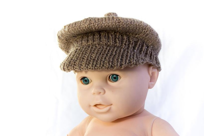 Newsboy Cap- Brimmed Cap- Knitting Pattern (en) - Strickanleitungen bei Makerist sofort runterladen