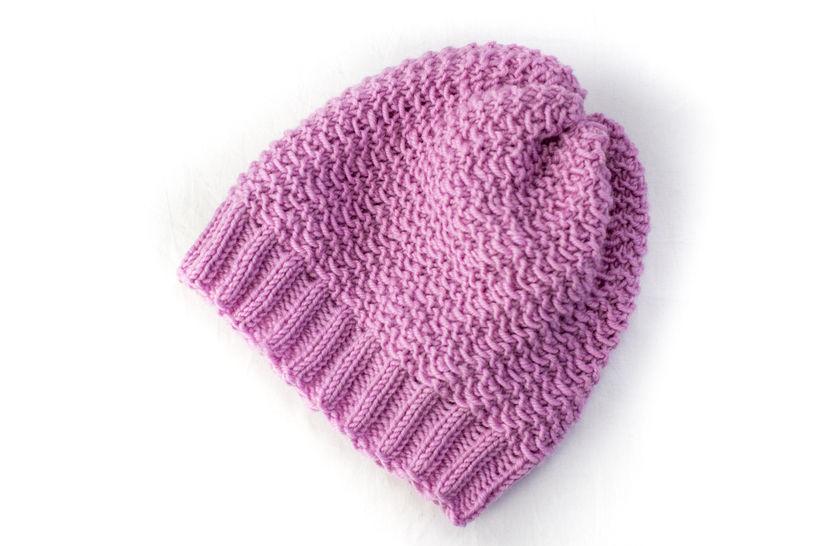 Baby Slouch Hat - Beanie - Knitting Pattern (en) - Strickanleitungen bei Makerist sofort runterladen
