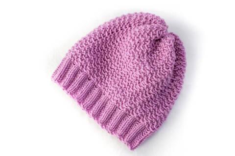 Baby Slouch Hat - Beanie - Knitting Pattern (en) bei Makerist sofort runterladen