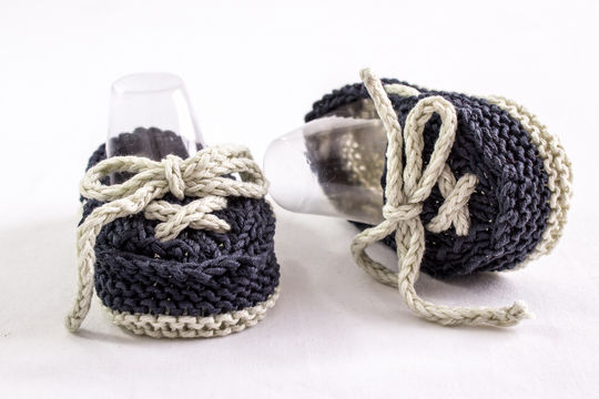 Baby Boat Shoes, Knitting Pattern (en) - Strickanleitungen bei Makerist sofort runterladen