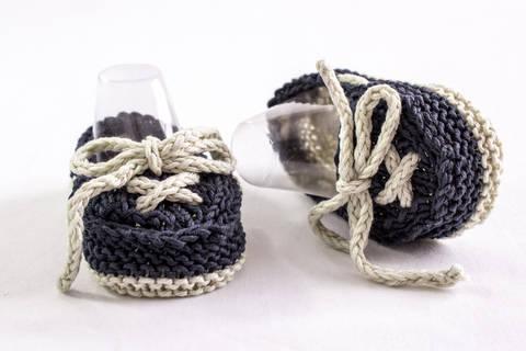 Baby Boat Shoes, Knitting Pattern (en) bei Makerist sofort runterladen