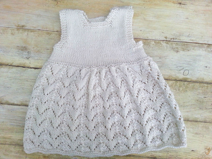 KNITTING PATTERN, Baby Lace Dress, Modern Baby Lace Dress, Summer Baby Dress , Sizes:0-6 months, 6- 12 months, 1- 2 years, 3-4 years (en) - Strickanleitungen bei Makerist sofort runterladen