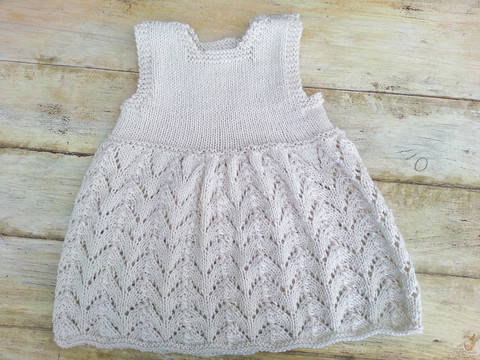 KNITTING PATTERN, Baby Lace Dress, Modern Baby Lace Dress, Summer Baby Dress , Sizes:0-6 months, 6- 12 months, 1- 2 years, 3-4 years (en) bei Makerist sofort runterladen