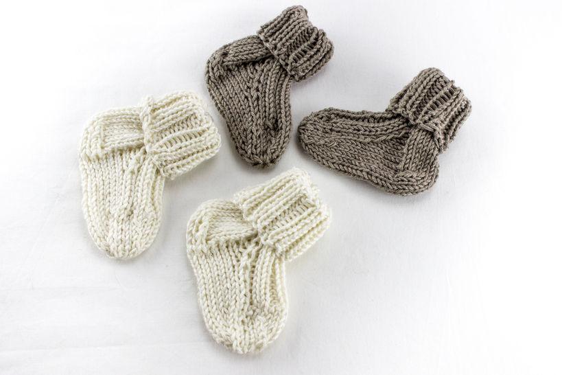 KNITTING PATTERN, Baby Socks ,Toddler Socks Pattern, Quick Baby Socks Knitting Pattern, Newborn Socks, Kids Sock Pattern (en) - Strickanleitungen bei Makerist sofort runterladen