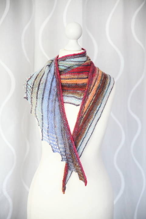 Impulsion Shawl - Knitting  (en) bei Makerist sofort runterladen