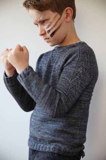 Trooper Children's Jumper - Knitting (en) - Strickanleitungen bei Makerist sofort runterladen