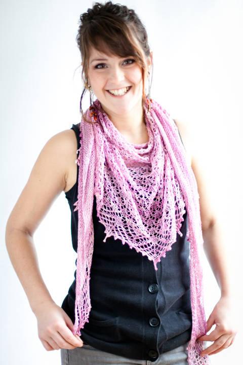 Hizakura Shawl - Knitting (en) bei Makerist sofort runterladen
