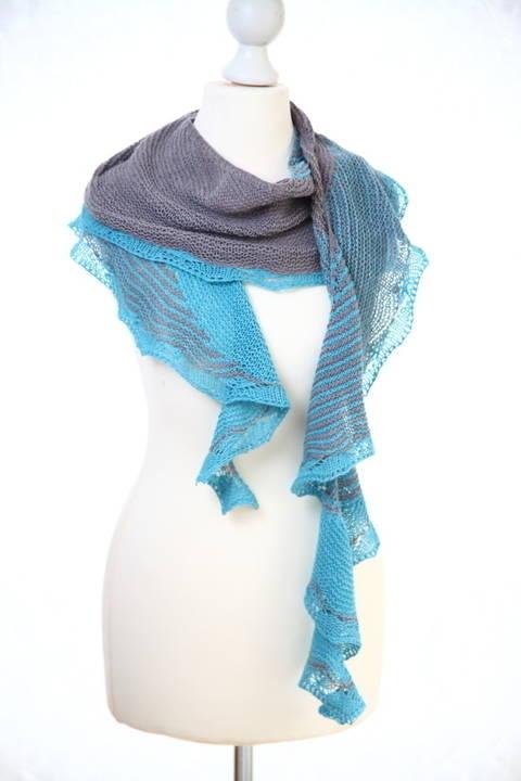 Teahupoo Shawl - Knitting (en) bei Makerist sofort runterladen