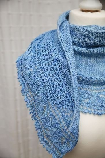 L'Envolée Shawl - Knitting (en) - Strickanleitungen bei Makerist sofort runterladen