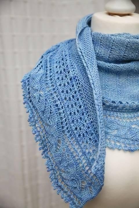 L'Envolée Shawl - Knitting (en) bei Makerist sofort runterladen