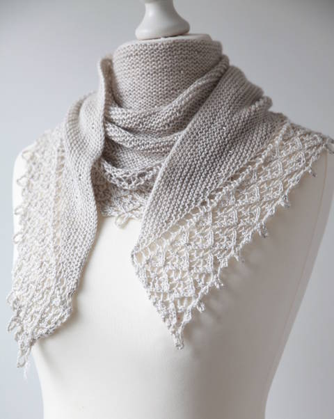 Pearls of Dew Shawl - Knitting (en) bei Makerist sofort runterladen
