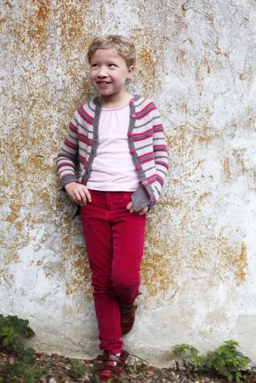Napolitain Children's Cardigan - Knitting (en) - Strickanleitungen bei Makerist sofort runterladen